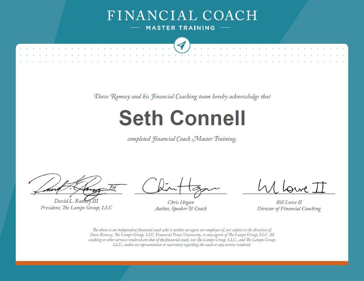 seth connell ramsey preferred coach